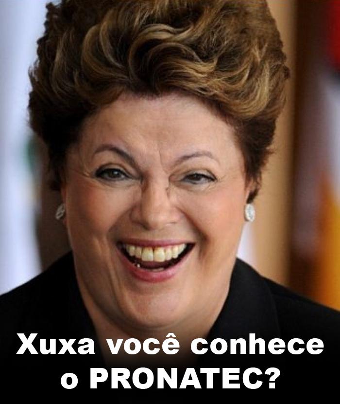 Recado de Dilma para Xuxa