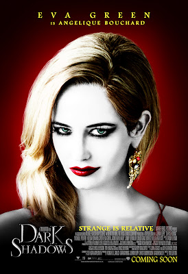 Eva Green Dark Shadows 2012 Movie HD Poster