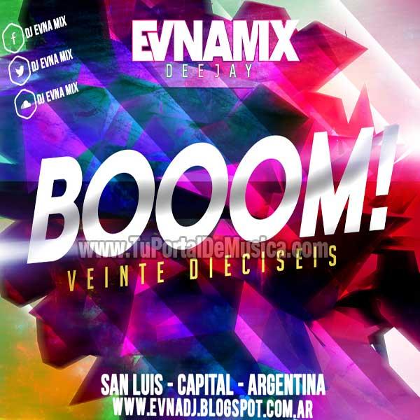 Dj Evna Mix BOOM! Edicion Fin De Año 2015 (2016)
