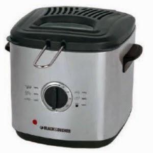 Ezoneonline: Buy Black & Decker EF1220 1000-Watt 1.2-Litre Deep Fryer Rs.3887