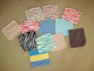 cotton wash cloths