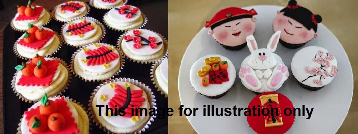 Chinese New Year Cupcake Baking & Decorating Class