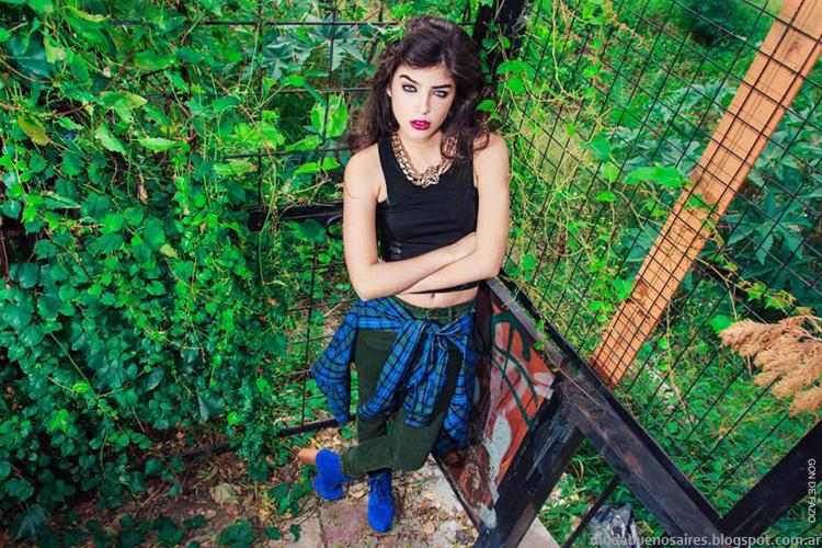 Colección Loli Pop otoño invierno 2014. Moda en ropa de mujer invierno 2014.