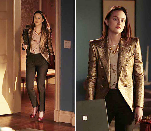 Silk And Spice Get The Look Gossip Girl Style Blair Waldorf