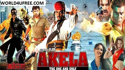 Ek Akela The One & Only 2015 Hindi Dubbed WEBRip 350mb