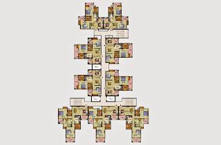Livingston :: Floor Plans,Block G:-ClusterPlan (Galaxy) Unit 9