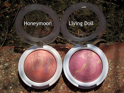hard candy honeymoon and living doll blushes