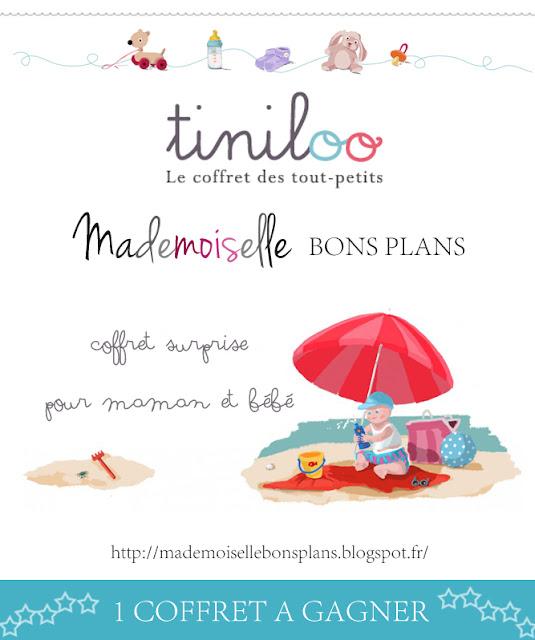 Jeu Tiniloo & Mademoiselle Bons Plans: Une box surprise pour maman & bébé à gagner