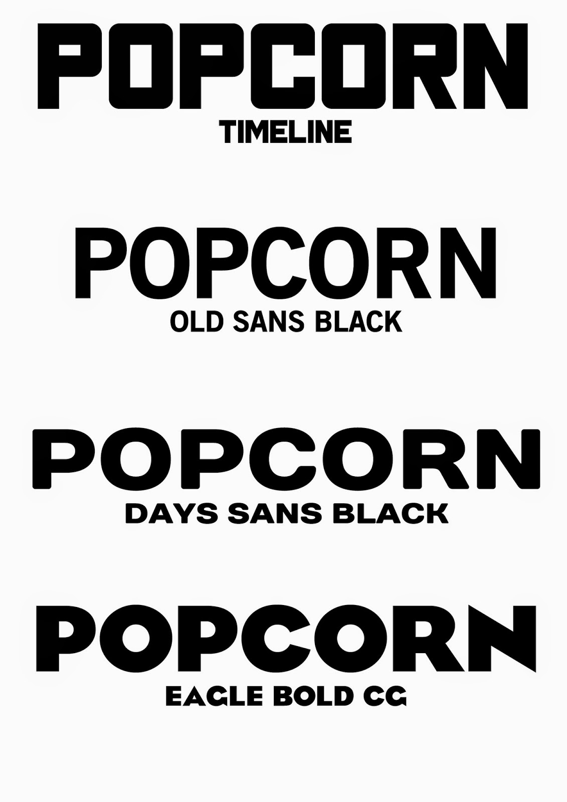 total film i knew i wanted a font that was thick bold and not too round to represent the type of magazine it is and the types of films it talks about