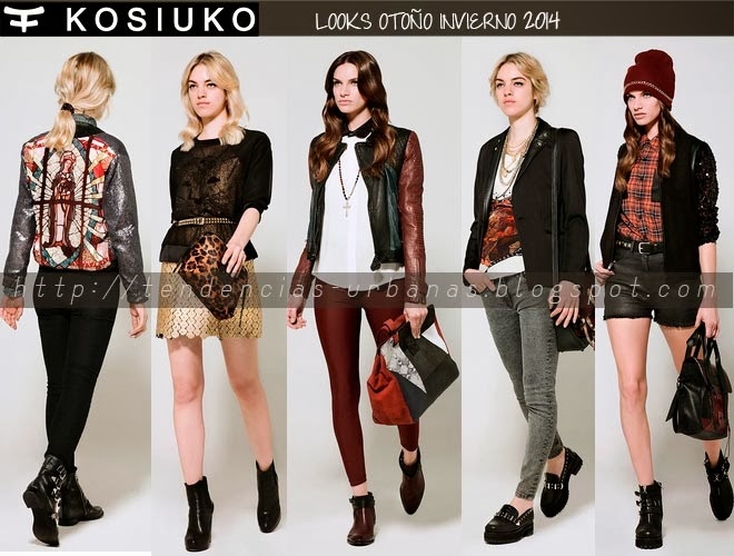 Kosiuko invierno 2014 lookbook