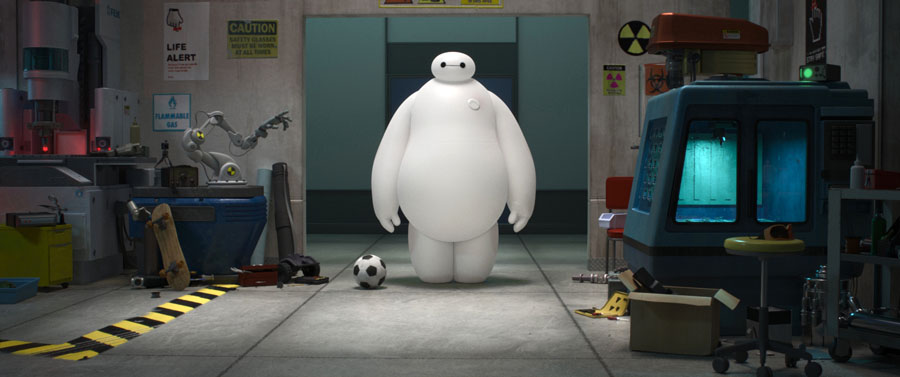 big hero 6, wielka szóstka, film, animacja, recenzja, blog