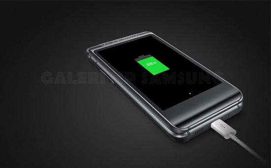 Fitur Fast Charging Hp Flip Samsung W2016