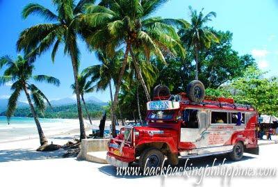 jeep sabang puerto princesa palawan