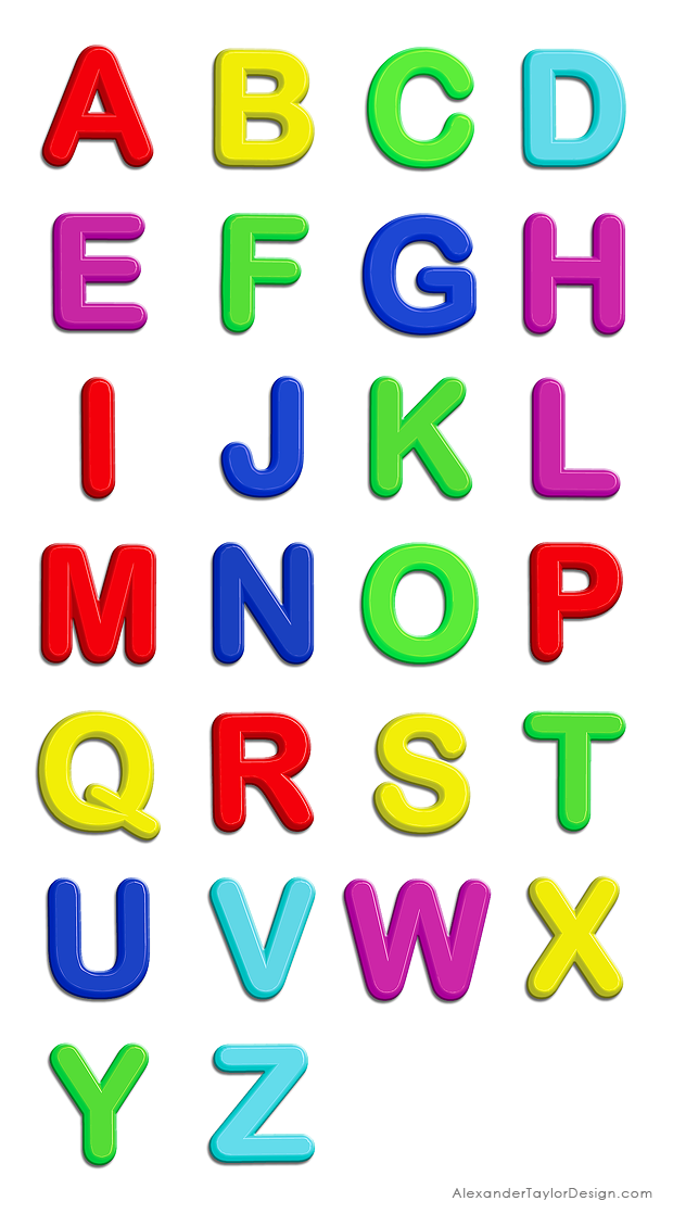 Fridge Magnet Designs Fridge Magnets Alphabet