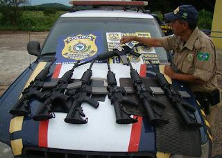 Apreensão de armas - http://www.mais24hrs.blogspot.com