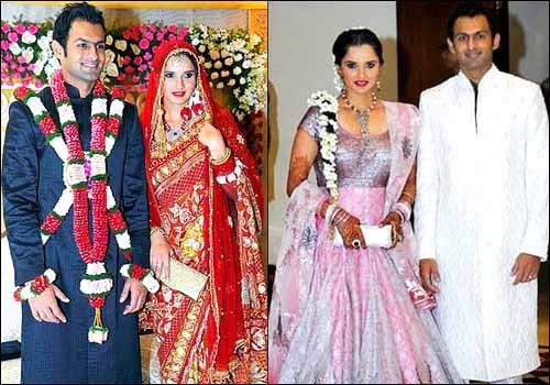 Sania Mirza Wedding Saree