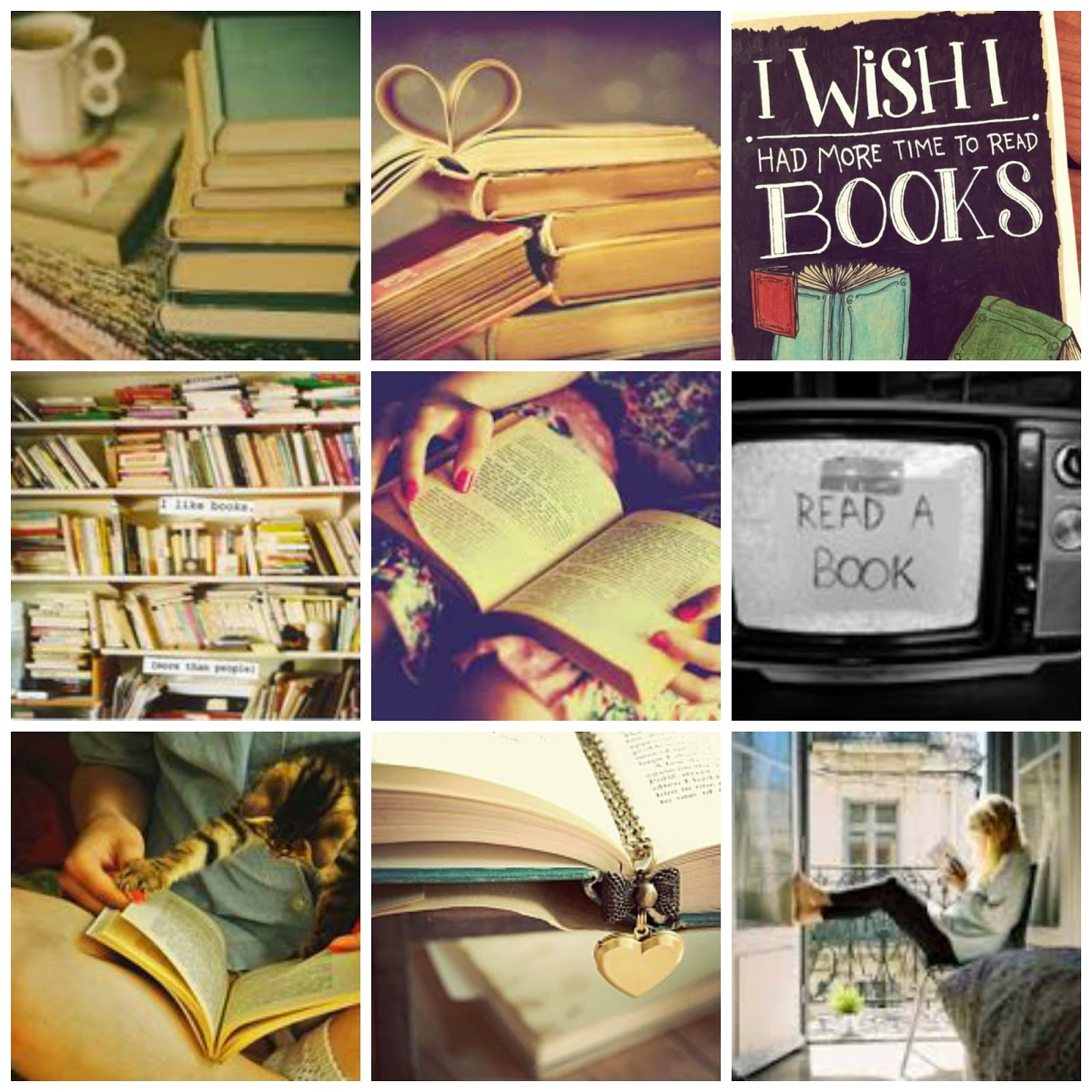 All I need is a book♥