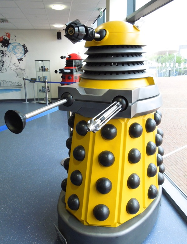 Yellow 2010 Dalek Doctor Who
