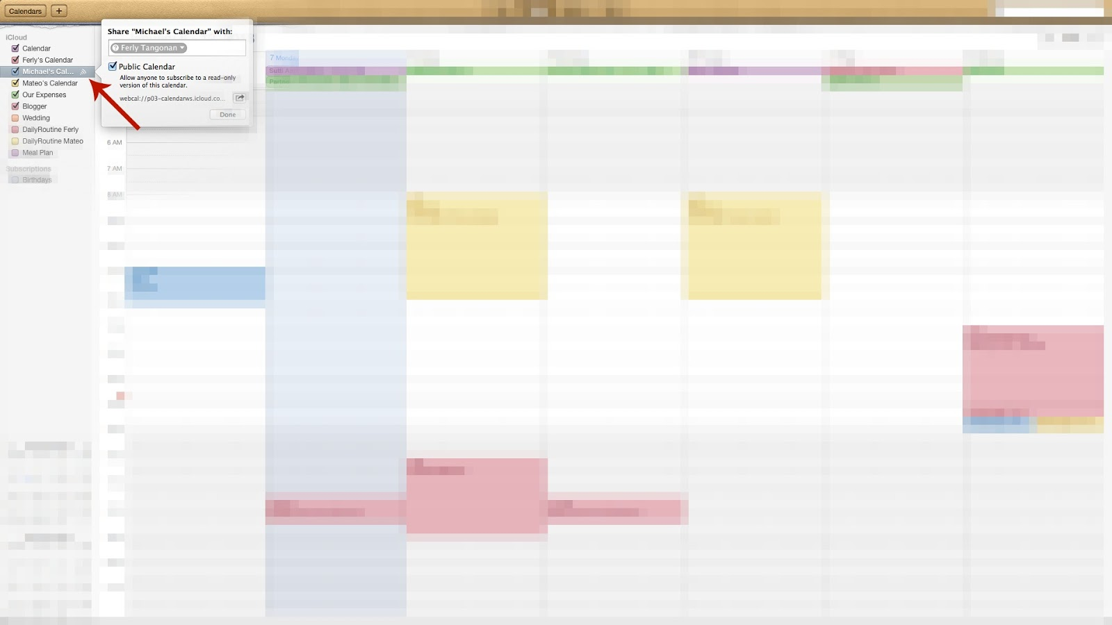 how to use the calendar on my iphone 4