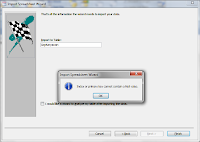 Tampilan Upload file Excel diimport 5