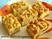 Tvarohovo-vanilkový koláč - recept