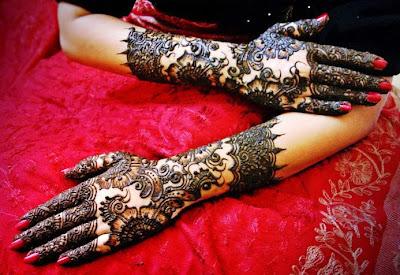Modern Arabic Mehndi Designs 2014 : Latest bridal mehndi designs for new year 2014 wfwomen