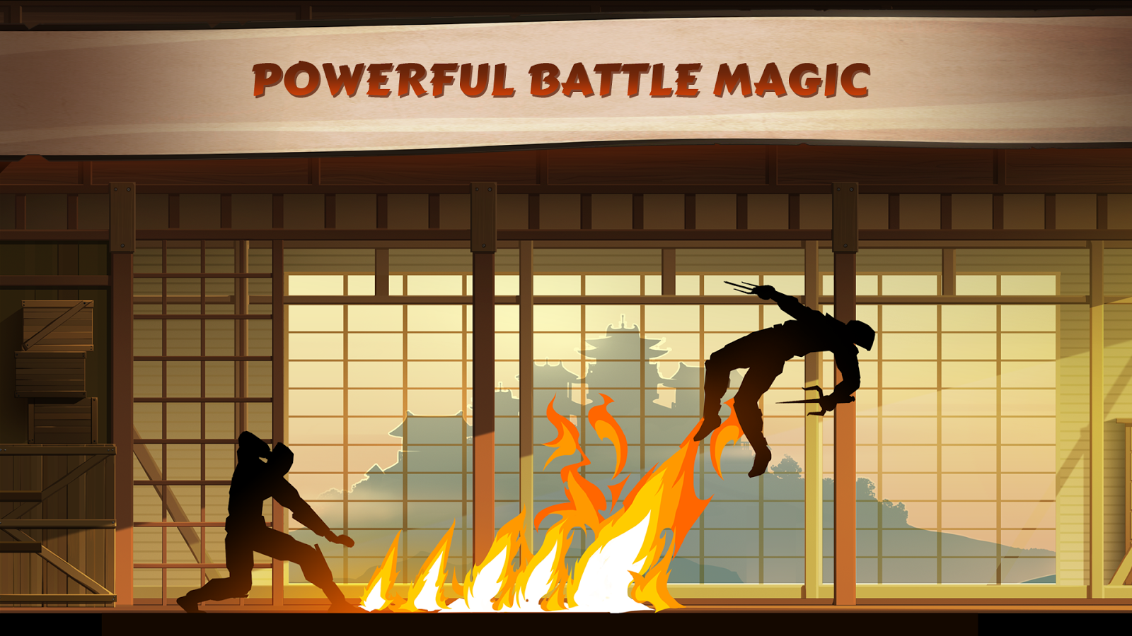 Game Android Shadow Fight Full Apk + Data