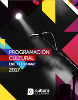 Agenda Cultural Ene- Feb-Mar 2017