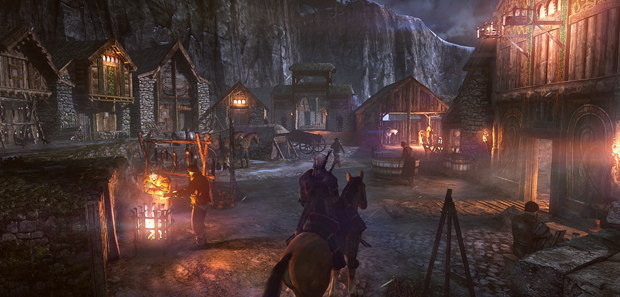 The Witcher 3 GDC Footage