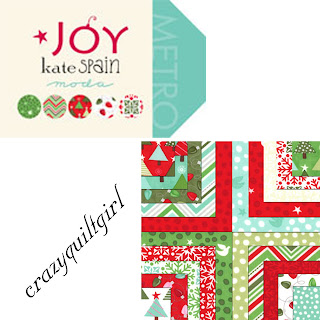 Moda JOY Christmas Quilt Fabric by Kate Spain