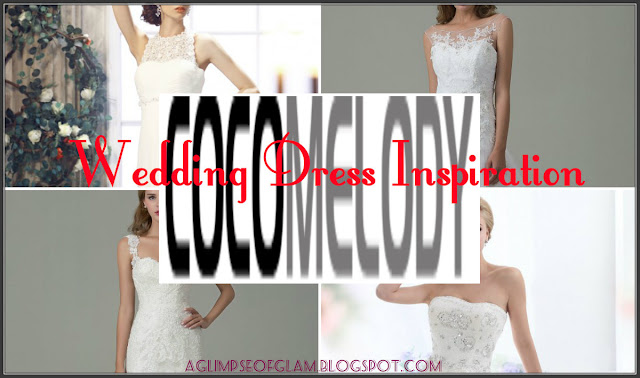 wedding dress inspiration cocomelody