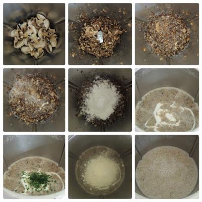 crema di funghi bimby
