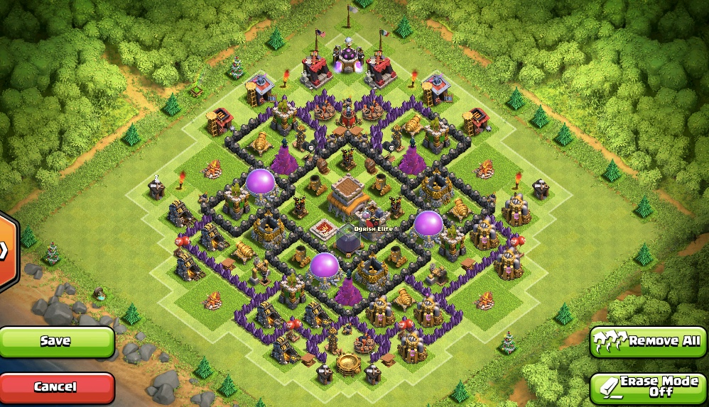 clash of clans 8ратуша