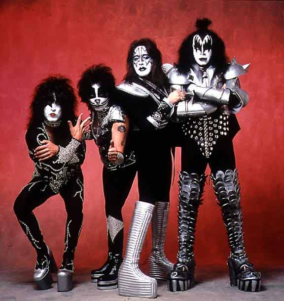 grupo de musica kiss:
