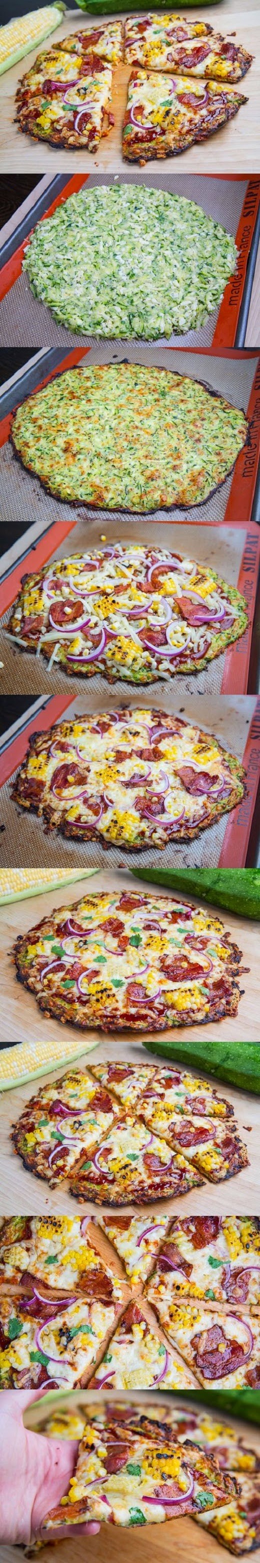 How To Make Zucchini Pizza Crust