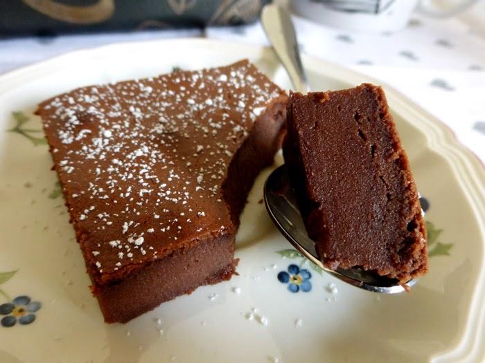 Exceptionnel LES METS TISSÉS: Cuisine d'ici et d'ailleurs: FONDANT AU CHOCOLAT  VI38