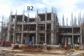 Amrapali Terrace Homes :: Construction Update b2