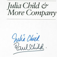 Julia and Paul Child's Autograph