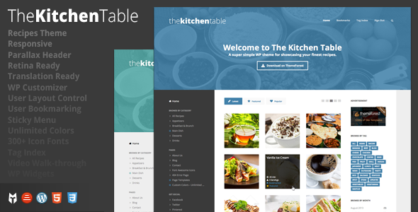 Best WordPress themes for Bakery and Food website