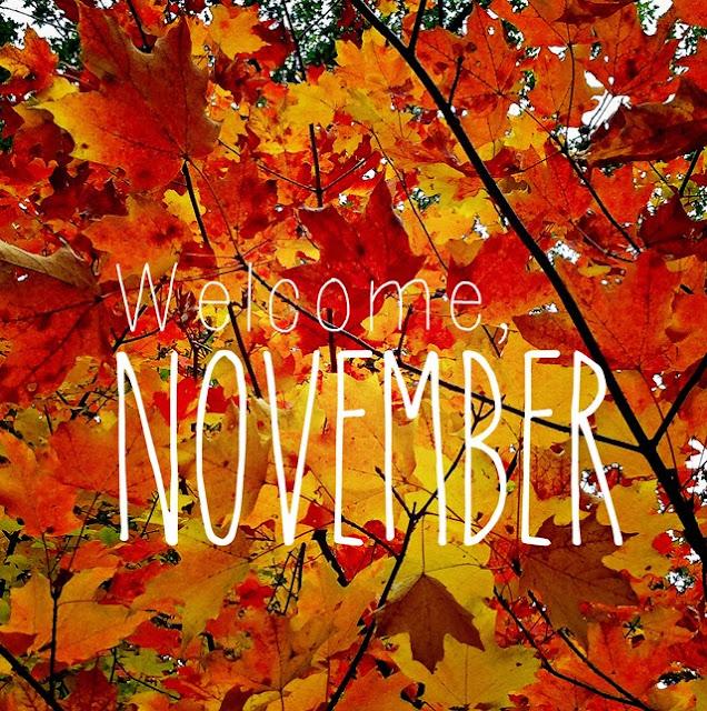 Welcome November!/ Vitaj november!