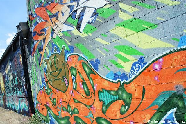 Art Alley RiNo District Denver Brewery Tour