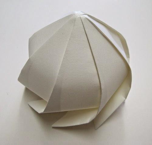 Paper mosque Origami