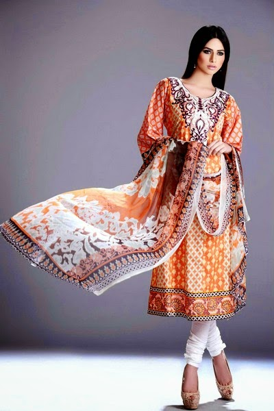 Elegnat Printed Dresses