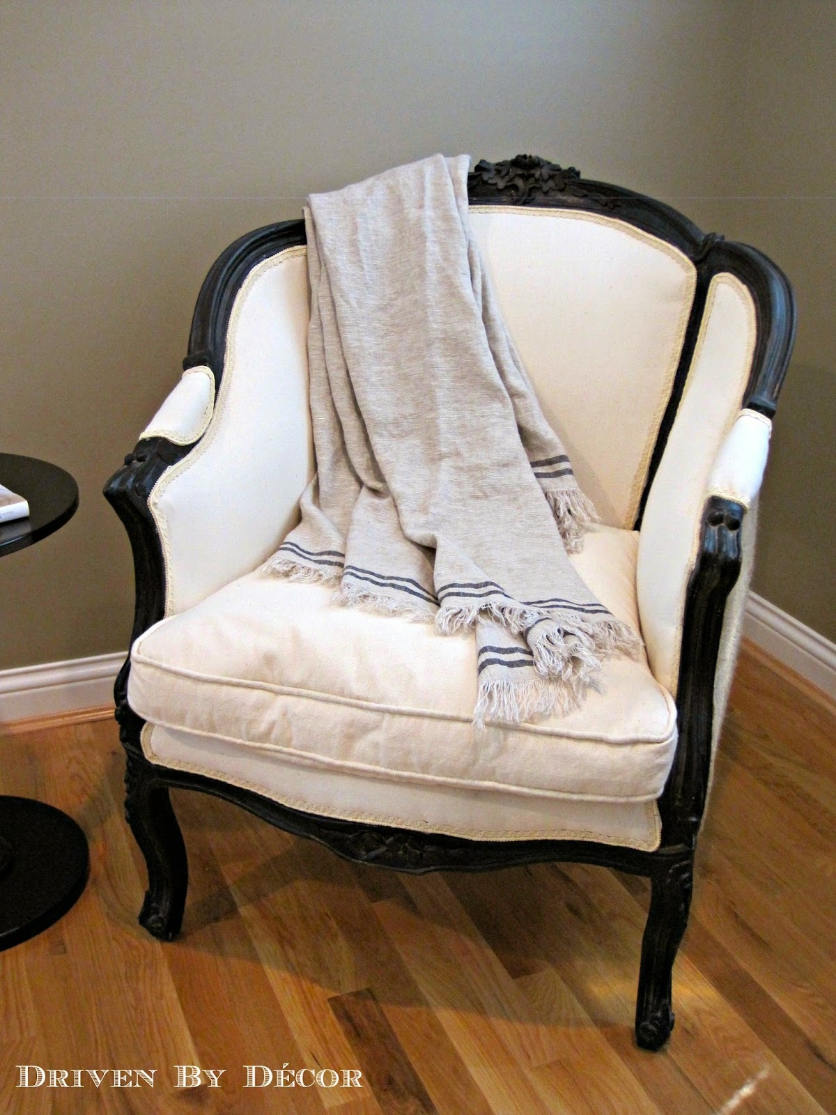 house tour master bedroom bathroom driven by decor. Black Bedroom Furniture Sets. Home Design Ideas