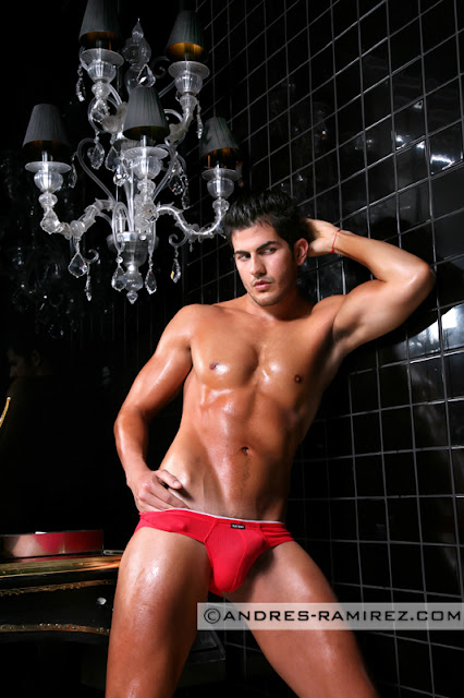 Olaf Benz underwear photo by Andres Ramirez