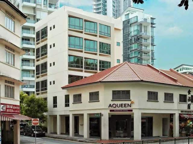 Aqueen Hotel Singapore