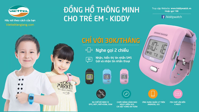 kiddy watch viettel