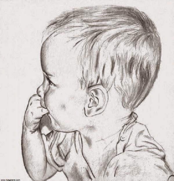 Favori Dessin bébé noir et blanc - Bébé et décoration - Chambre bébé  IH38