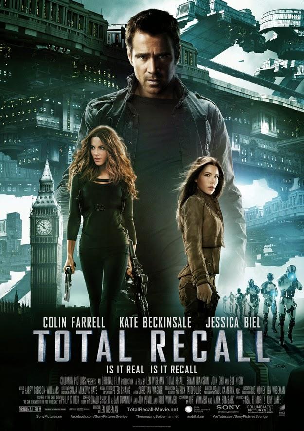 ตัวอย่างหนังใหม่ : Total Recall (คนทะลุโลก) (ตัวอย่างที่ 2) ซับไทย poster
