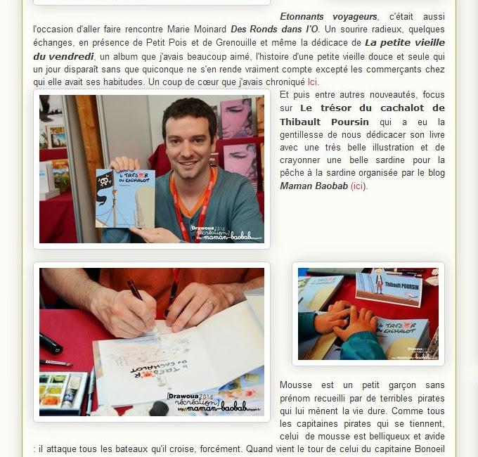 Lire l'article : Dessine moi la mer et des festivals de livres jeunesse en Bretagne {Etonnants voyageurs et Doëlan} (Maman Baobab)